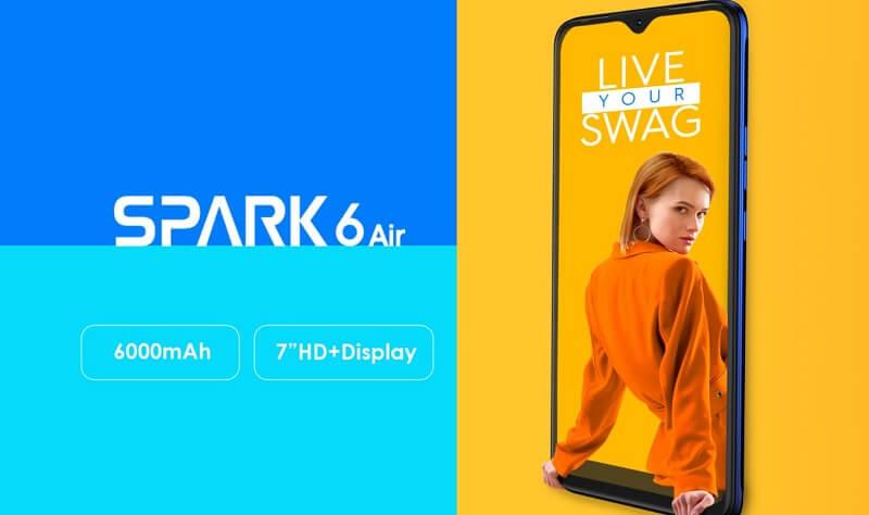 Tecno Spark 6 Air Key Features