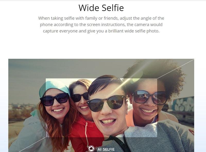 Wide Selfie Mode