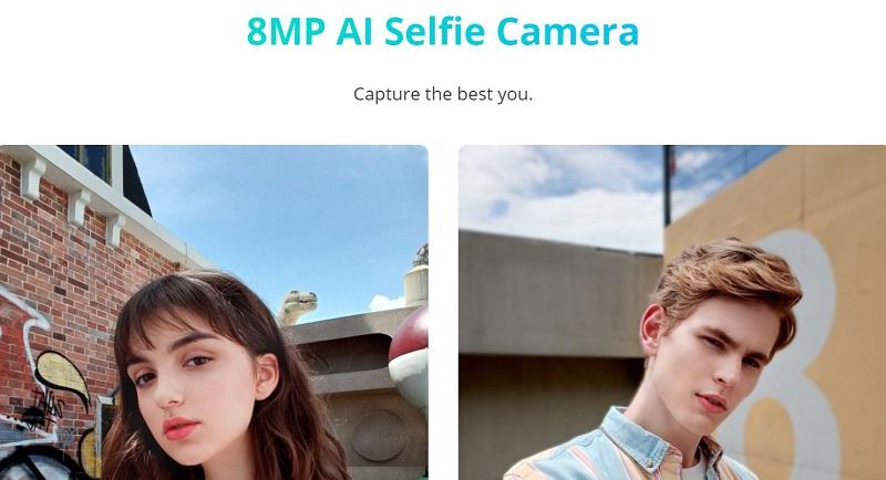 8MP AI Front Camera