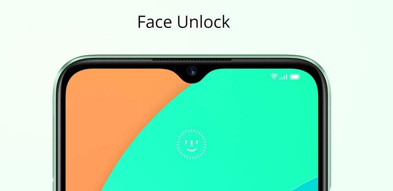 Face unlock Screen