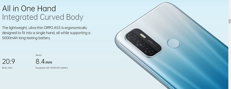 Integrated Curved Body