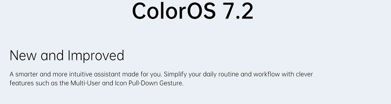 New and Improved Color OS