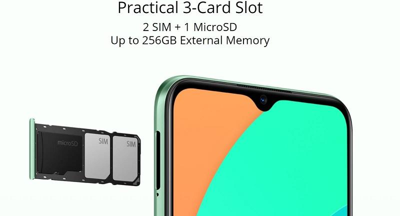 Partial 3-Card Slot