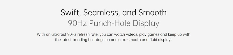 Punch-Hole Display