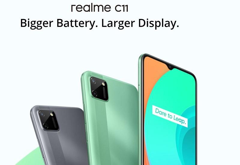 REALME C11 Larger Display