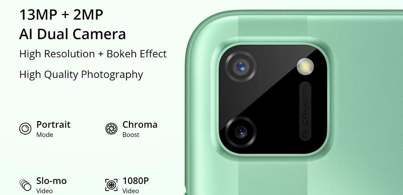 Realme C11 Cameras