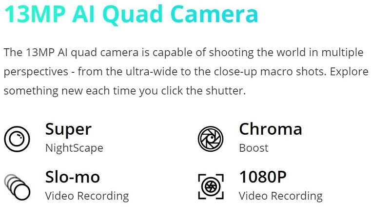 Realme C15 Quad Camera