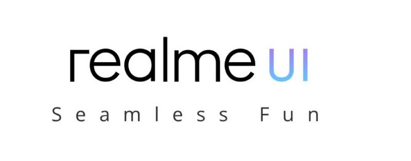 Realme User Interface