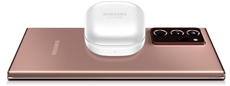 SamsungGalaxy BUds Plus wireless charging