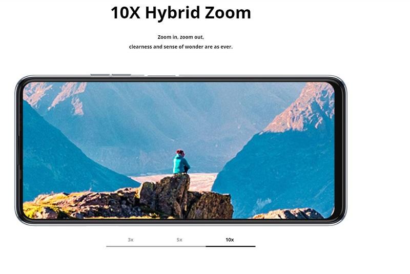 10X Hybrid Zoom