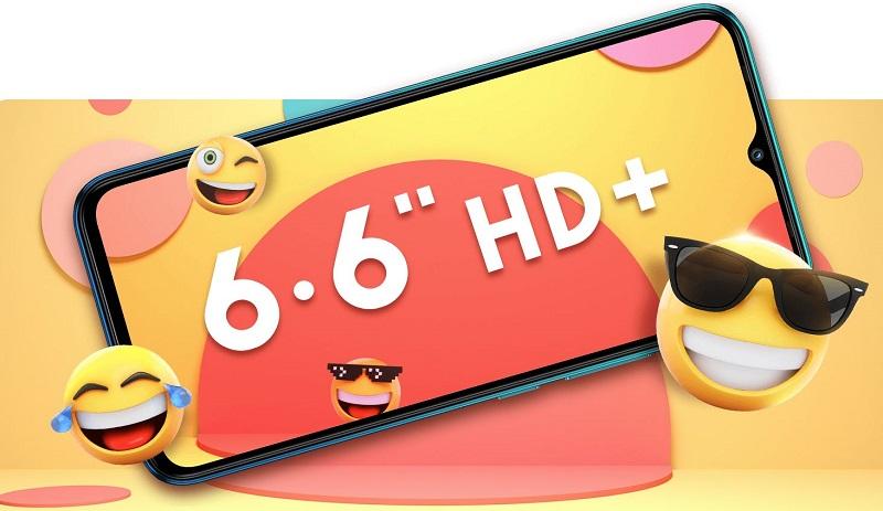 6.6 High Definition Display