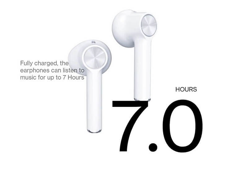 7 Hours Of Music Playback