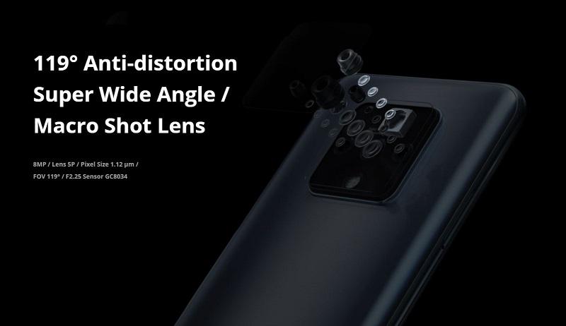 Anti- Distortion Wide Angle Camera