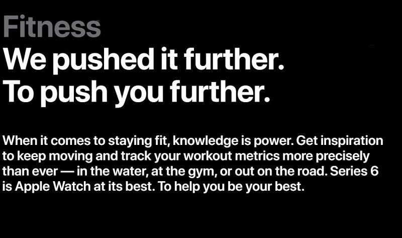 Apple Watch 6 Fitness Mechanisms