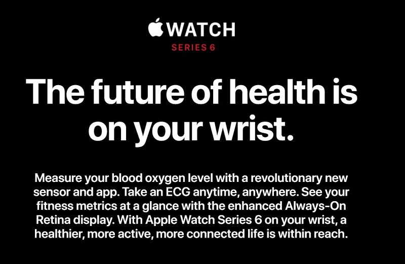 Apple Watch Series 6 Improved Health Monitoring Systems