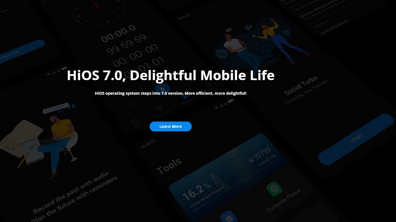 Delightful Mobile Life With The HiOS 7.0