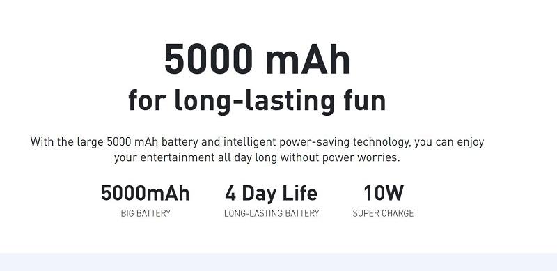 Hot 10 Lite Intelligent Power Saving Technology