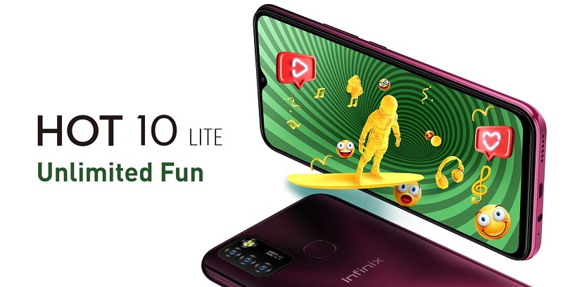 Infinix Hot 10 Lite Unlimited Fun