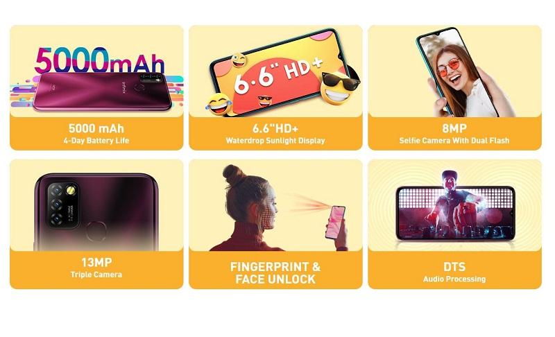 Infinix Hot 10 Lite Featured Specs