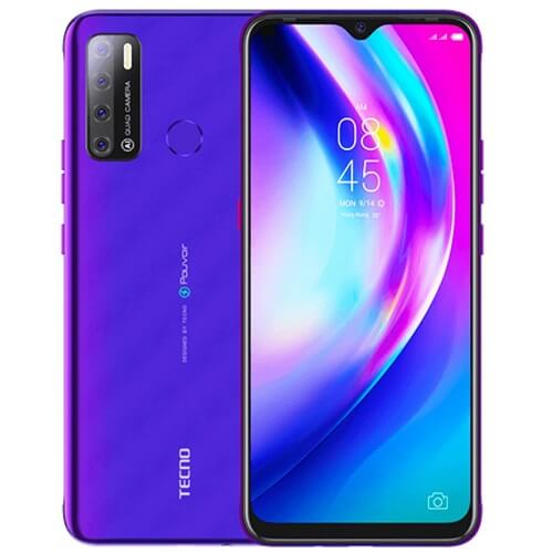 Tecno Pouvoir 5 Fascinating Purple