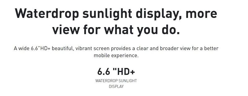 Waterdrop Sunlight Display