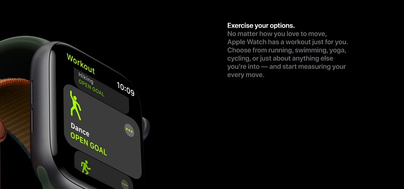Apple Watch Series 6 Suggested Workout Activities