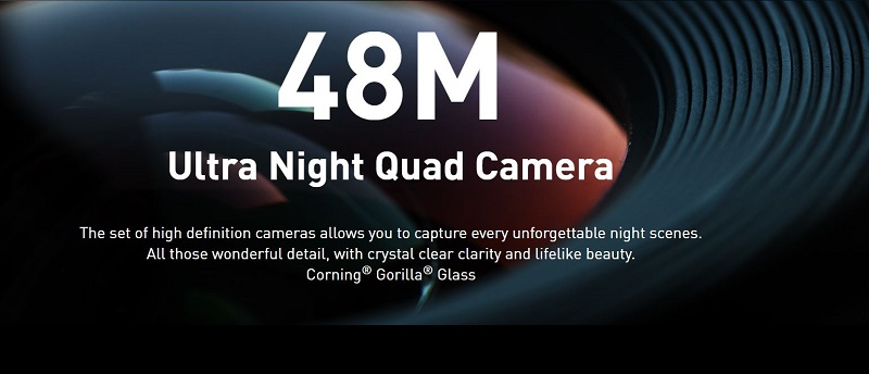 48-Megapixel Ultra Night Quad Camera