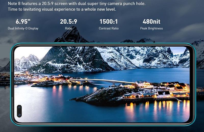 6.95 Dual Infinity-O Display