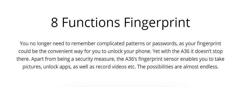 8 Function Fingerprint