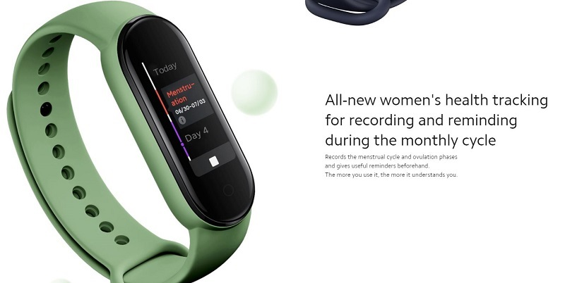 All-New Woman's Health Tracking