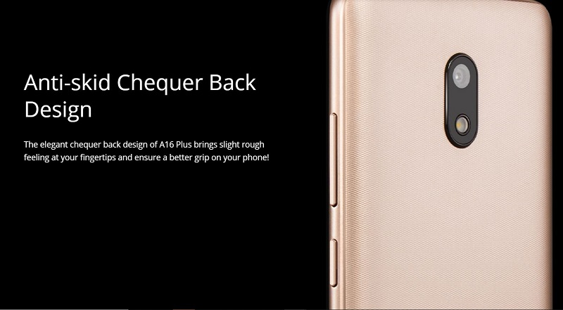 Anti-Skid Chequer Back Design