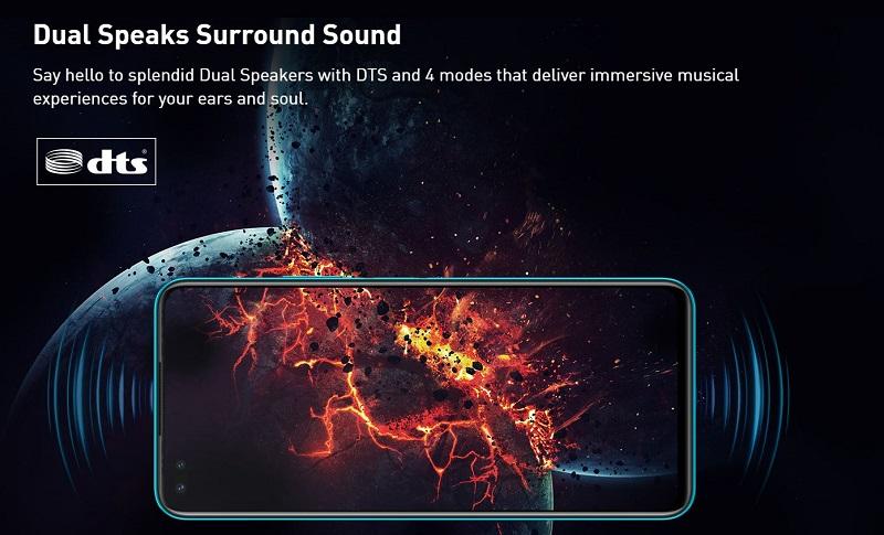 Dual Speaker Surround Sound