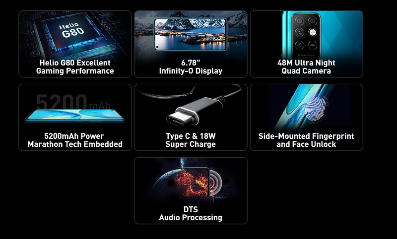 Infinix Note 8i Key Specs