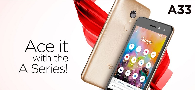 Itel A33 Features