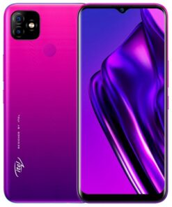 Itel P36 Gradient Purple