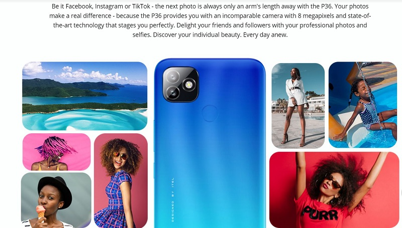 Itel P36 Professional Photography