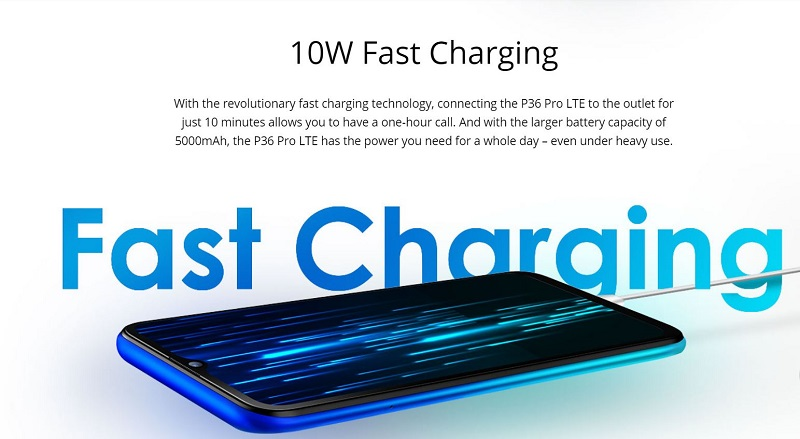 P6 Pro LTE Fast Charging