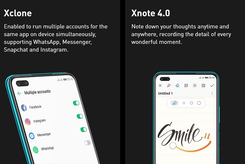 X-note 4.0 Application