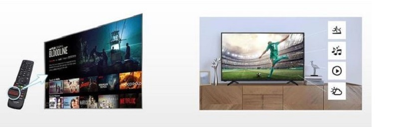 Control Hisense 32 Inch TV seamlessly with remote control